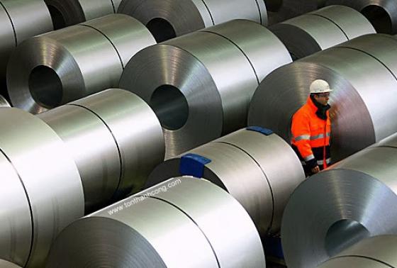 Áp thuế chống bán phá giá thép mạ Trung Quốc và Hàn Quốc đến tháng 4/2022